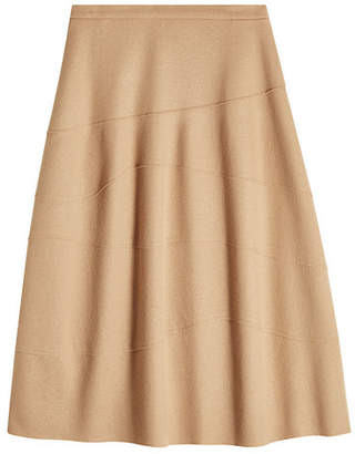 Jil Sander Wool Skirt