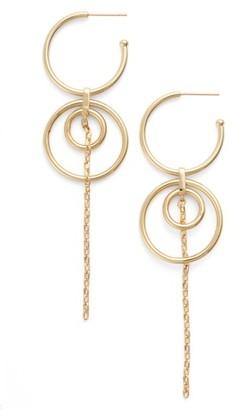 Women's Jules Smith Milky Way Shoulder Duster Earrings $65 thestylecure.com