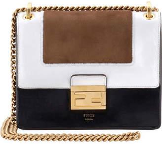 Fendi Kan U Small Colorblock Shoulder Bag