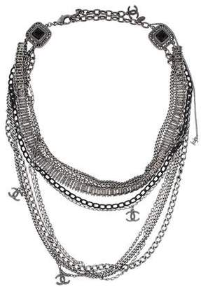 Chanel Logo Multistrand Necklace