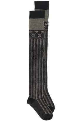 Gucci GG lurex socks