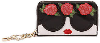 Alice + Olivia (アリス オリビア) - Alice+olivia Avril Staceface Flowers Small Wallet