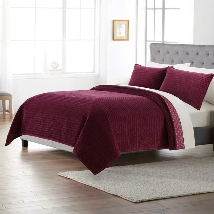 Sonoma Goods For Life SONOMA Goods for Life Solid Velvet Quilt