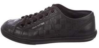 Louis Vuitton Damier Leather Sneakers