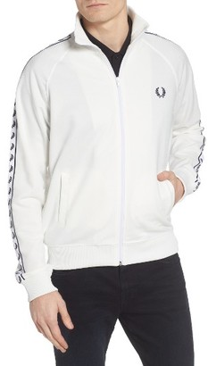 Men's Fred Perry Tape Track Jacket $130 thestylecure.com