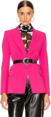 MSGM Blazer Jacket in Fuchsia | FWRD