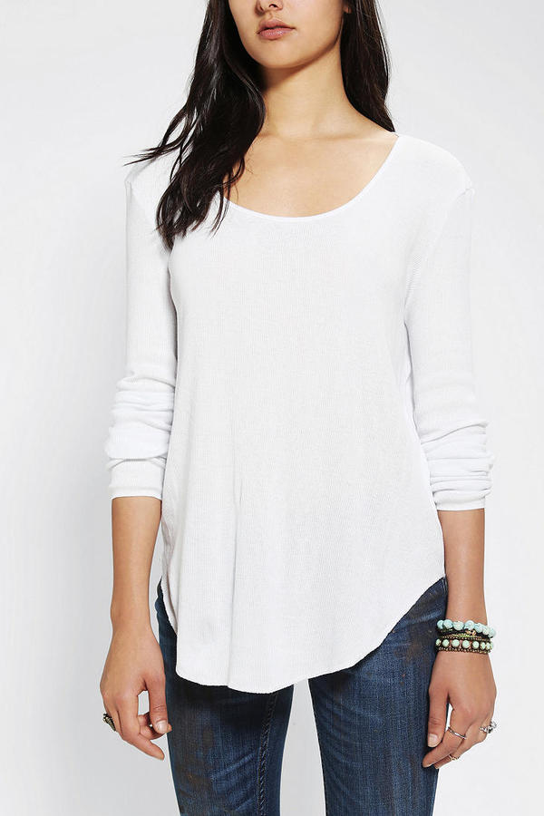 Urban Outfitters ByCORPUS Skinny Ribbed Top