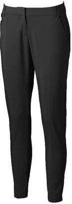 Women's Apt. 9® Torie Zipper-Pocket Skinny Pants $48 thestylecure.com