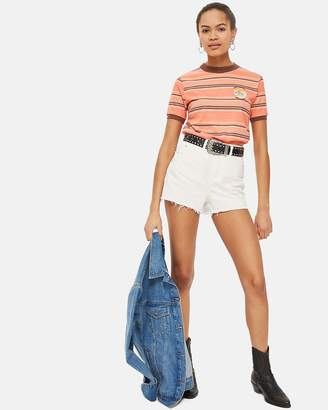 Topshop Mom Authentic High Rise Shorts