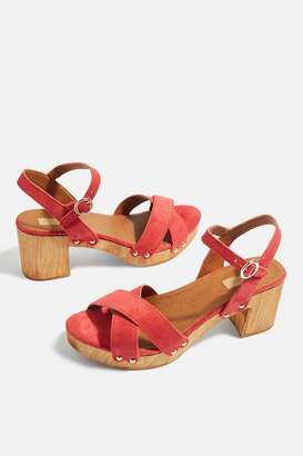 Topshop Valerie Cross Strap Sandals