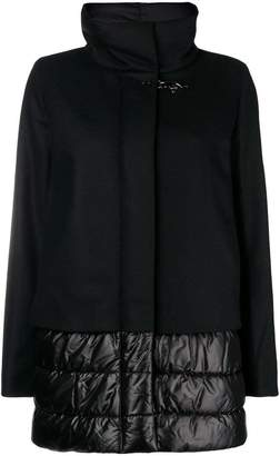 Fay shell-panelled coat