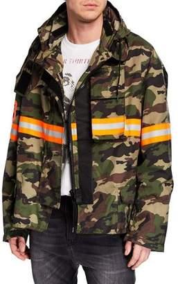 R 13 Men's Camo Fireman Jacket