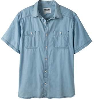 Mountain Khakis Ace Indigo Short-Sleeve Shirt - Men's
