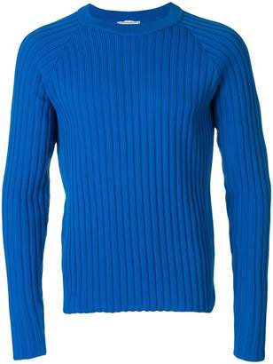 Ami Alexandre Mattiussi Ribbed Raglan Sleeves Sweater