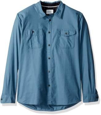 Quiksilver Waterman Men's Tarno Long Sleeve Button Down Shirt