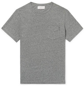 Officine Generale Mélange Cotton-Jersey T-Shirt