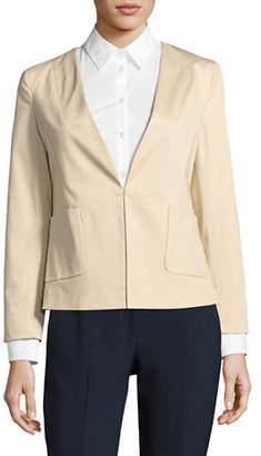 Ellen Tracy Angled Pocket Blazer
