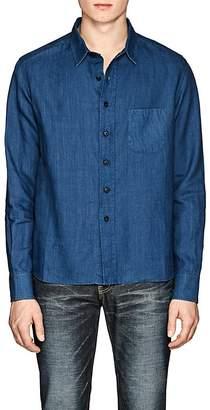Simon Miller Men's Pioche Slub Linen Shirt