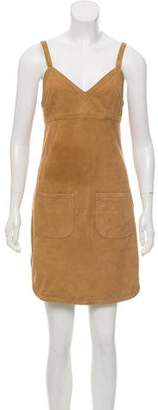 See by Chloe Suede Sleeveless Dress