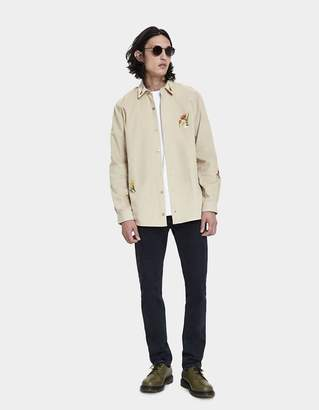 Bruta Botany Classic Shirt in Corduroy Camel
