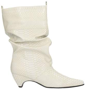 Stella McCartney Embossed Slouch Boots