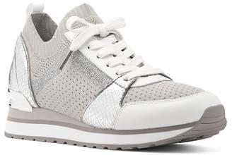 MICHAEL Michael Kors Women's Billie Knit Trainer Lace Up Sneakers