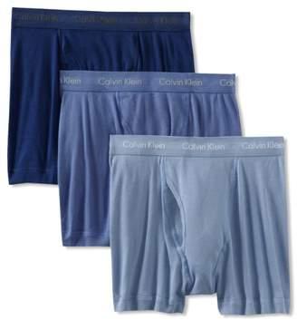 Calvin Klein Men's Underwear Cotton Classics 3 Pack Boxer Briefs