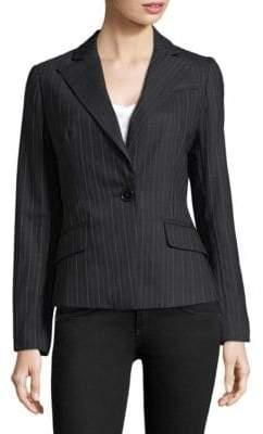 Milly Italian Pinstripe Blazer