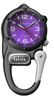 Dakota LED Microlight Clip Watch
