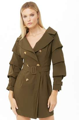 872b958d124 Forever 21 Green Outerwear For Women - ShopStyle Canada