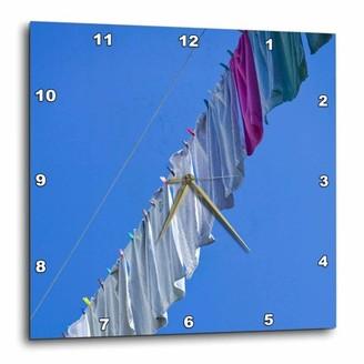 Laundry by Shelli Segal 3dRose Montenegro, Kotor, Old Town EU47 WBI0144 - Walter Bibikow, Wall Clock, 10 by 10-inch