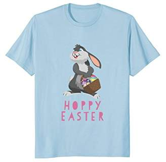 Hoppy Easter Bunny with Eggs in Basket T-Shirt