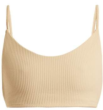 Made By Dawn - Swoop Bikini Top - Womens - Cream