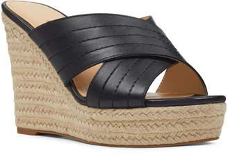 57bd3feb9cc Nine West Hope Espadrille Wedge Slide Sandal