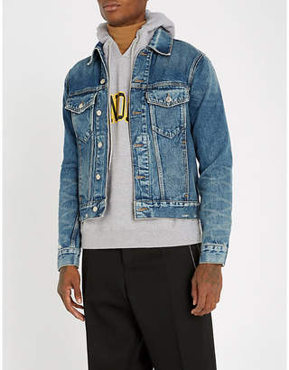 Sandro Distressed denim jacket