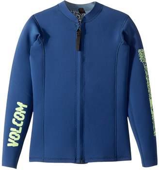 Volcom Chesticle Wetsuit Jacket Boy's Swimwear