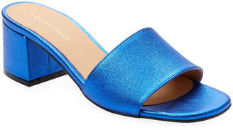 Saks Fifth Avenue Women's Block Heel Suede Sandal