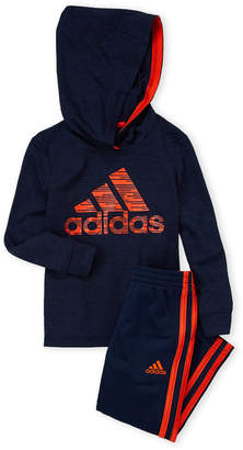 adidas Toddler Boys) Two-Piece Sport Hoodie & Pants Set