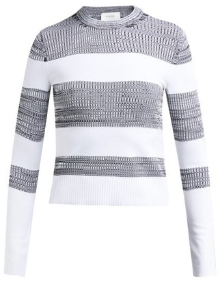 Sportmax Po Sweater - Womens - White Black