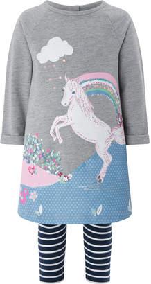 Monsoon Baby Freya Horse Tunic Set