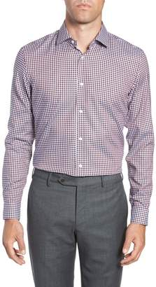 BOSS x Nordstrom Isaac Slim Fit Check Dress Shirt