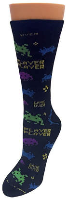 Novelty Licensed 1 Pair Crew Socks-Mens