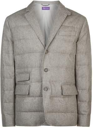 Ralph Lauren Purple Label Wool Quilted Blazer