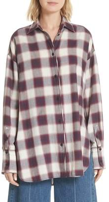 Elizabeth and James Clive Plaid Shirt