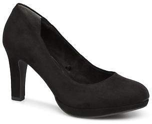 Marco Tozzi Women's TOEV Rounded toe High Heels in Black