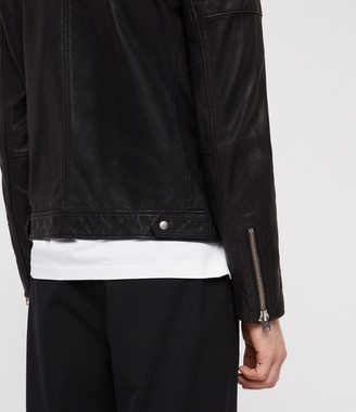 Leo Leather Biker Jacket