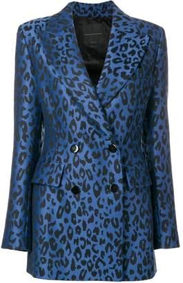 Ermanno Scervino leopard print blazer