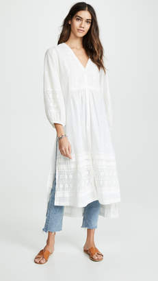 Free People June Bug Maxi Blouse