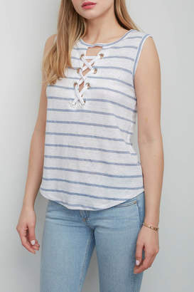 Generation Love Lola Lace-Up Top
