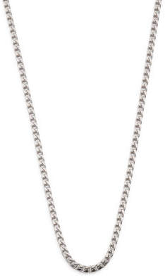 Men's Made In Italy Sterling Silver Franco Chain Necklace